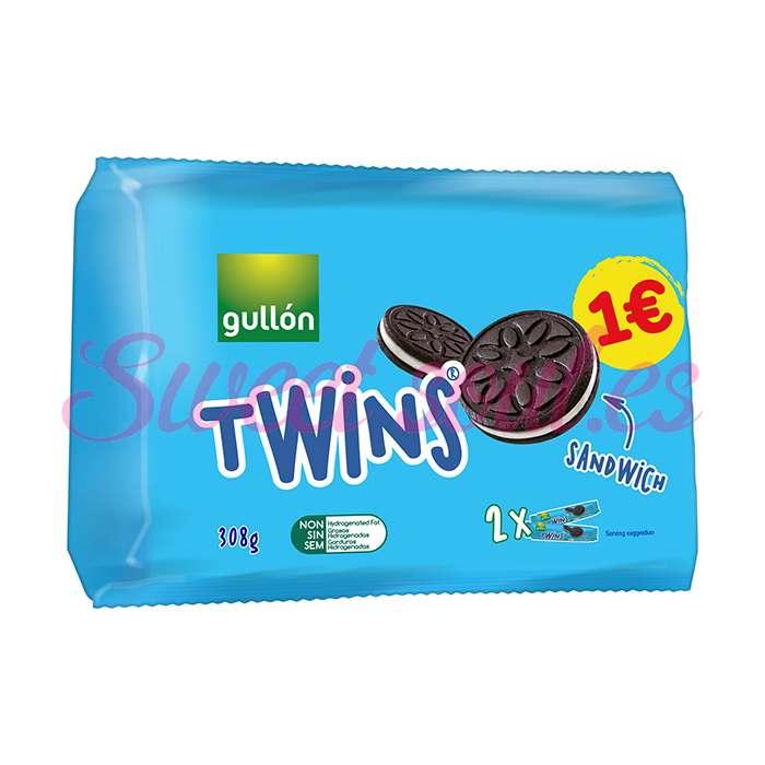 PAQUETE TWINS GULLON 2-PACK SANDWICH COOKIE, 308g