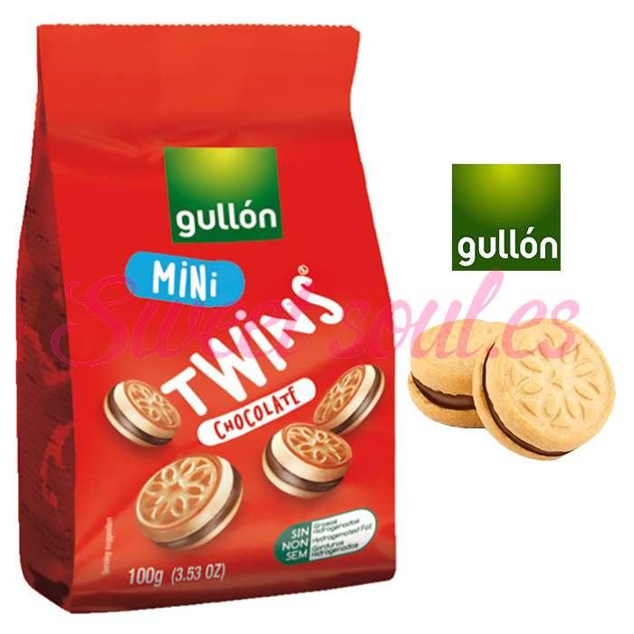 GALLETAS GULLON MINI TWINS CHOCOLATE, 100g