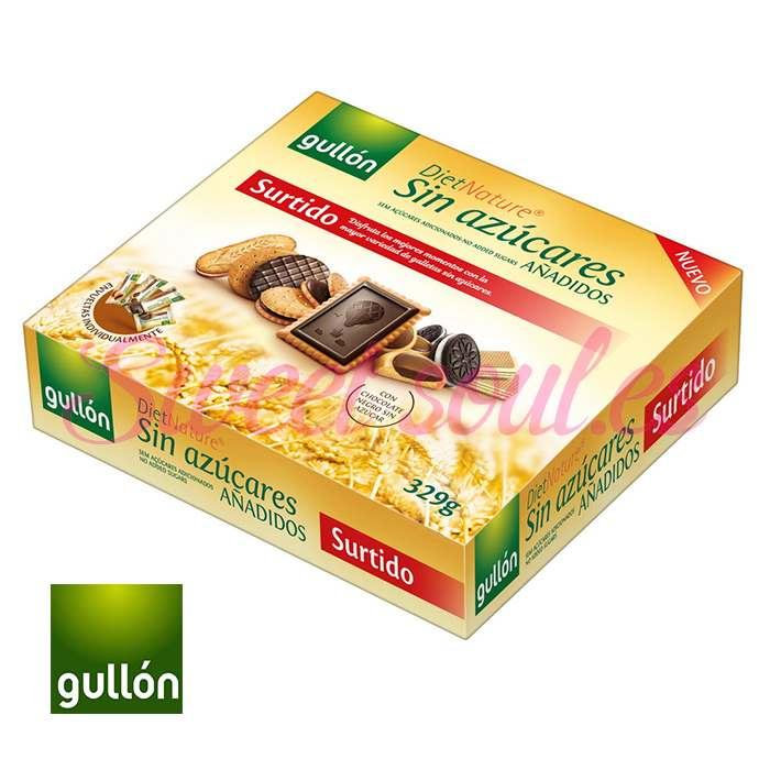 GALLETAS SURTIDO DIET NATURE GULLON, 329g