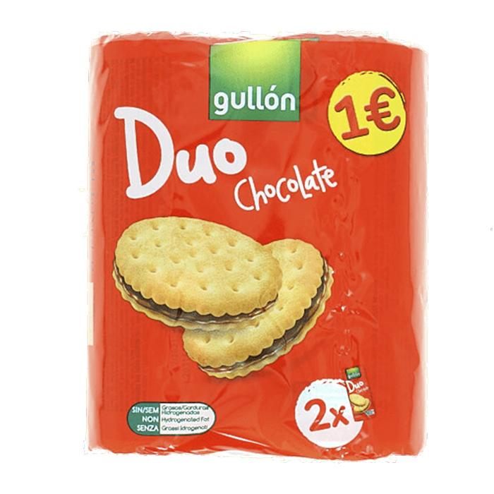 GULLON DUO CHOCOLATE 290gr. 1€