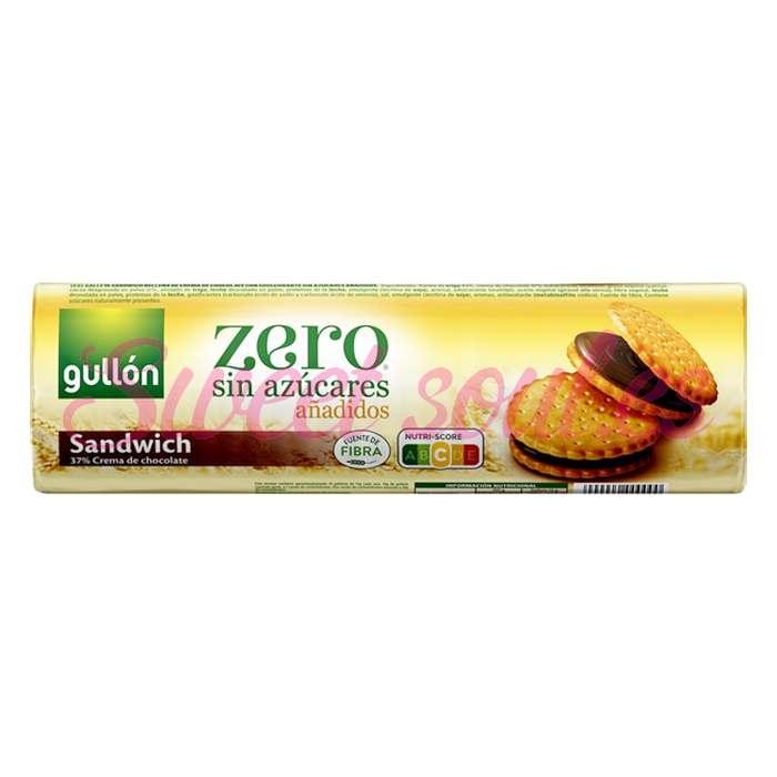 GALLETAS SANDWICH CHOCOLATE ZERO GULLON 250g