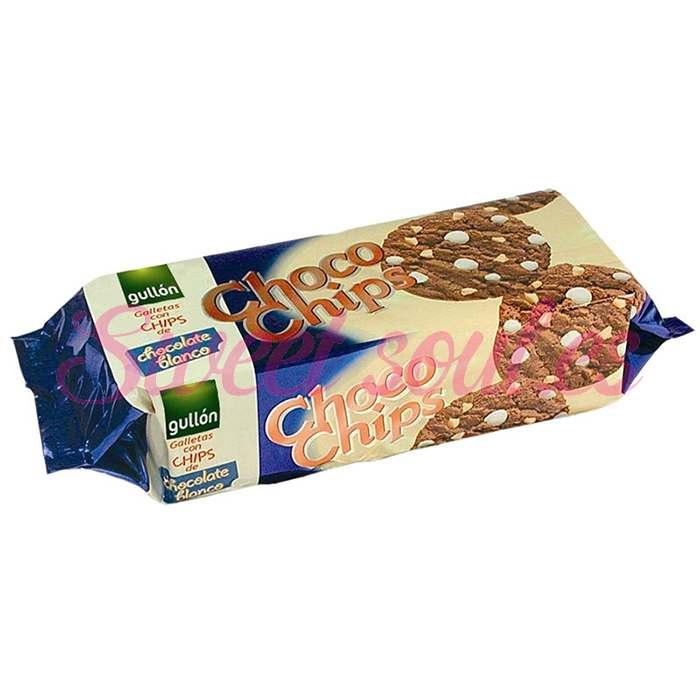 CHOCO CHIPS BLANCO GULLON 125g