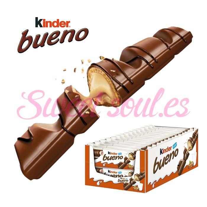 CAJA DE CHOCOLATINAS KINDER BUENO, 30UNDS