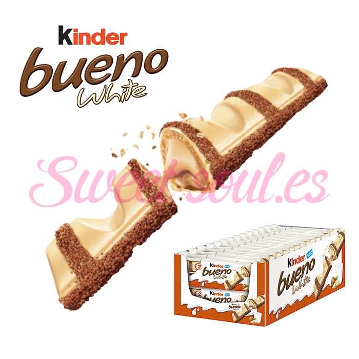 CAJA DE KINDER BUENO WHITE, 30UNDS