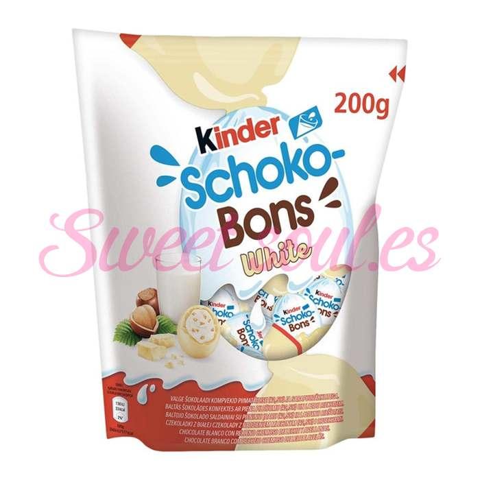 KINDER SCHOKO-BONS WHITE, 200gr