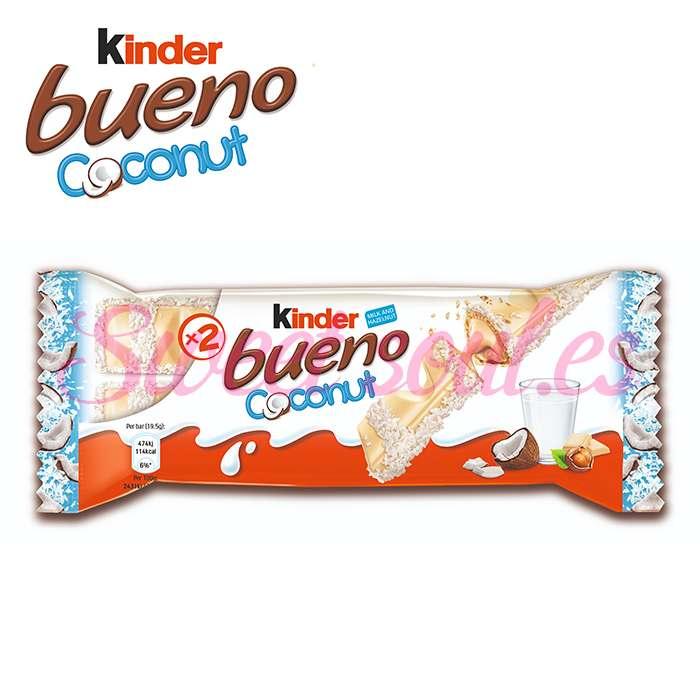 CAJA DE CHOCOLATINAS KINDER BUENO COCO, 30UNDS