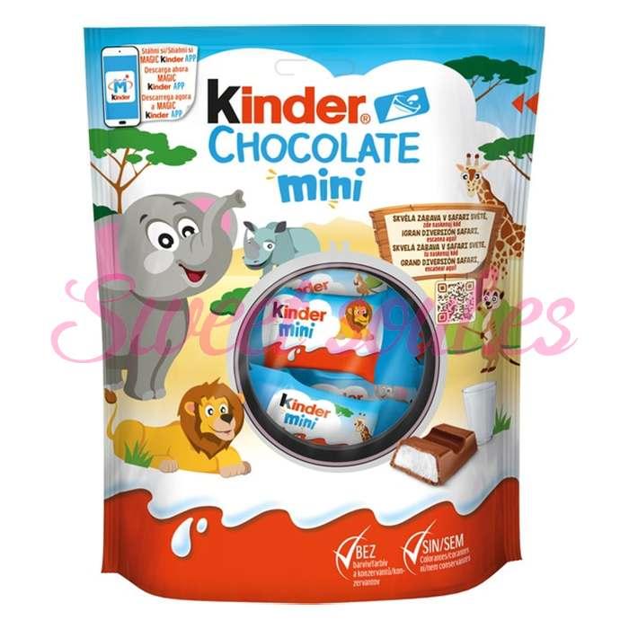 KINDER CHOCOLATE MINI, 20UNDS