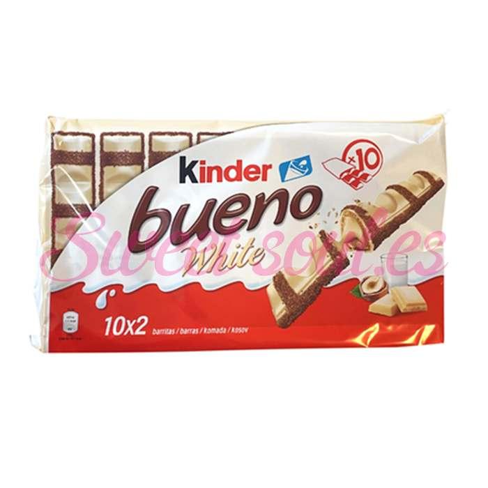 KINDER BUENO WHITE, 10UNDS