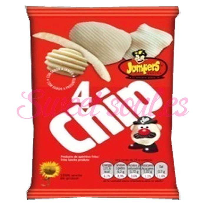 4 CHIP JUMPERS JAMON 30gr X 20UNDS.