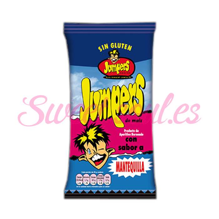 JUMPERS  MANTEQUILLA, 42gr X 18UNDS