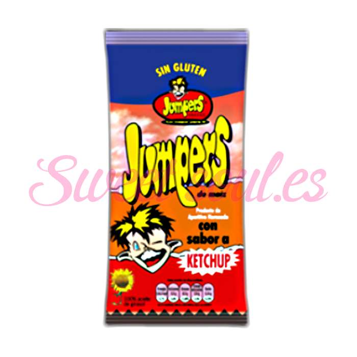 JUMPERS SABOR KETCHUP, 42gr x 18 UNDS