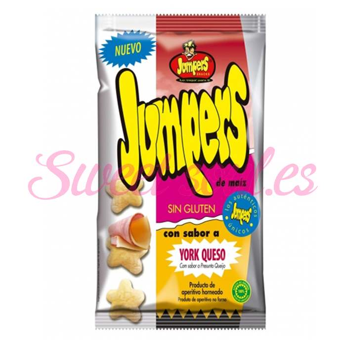 JUMPERS SABOR YORK QUESO, 18 UNDS