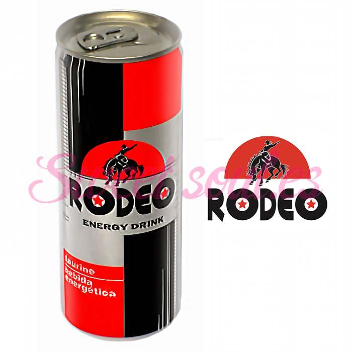 LATA RODEO ENERGY DRINK, 250ml