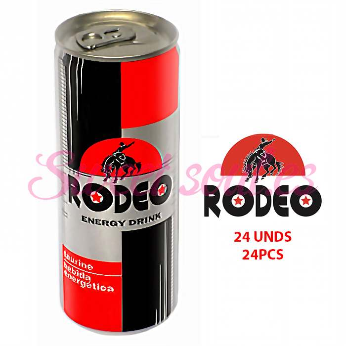 RODEO ENERGY DRINK, 24UNDSx250ml