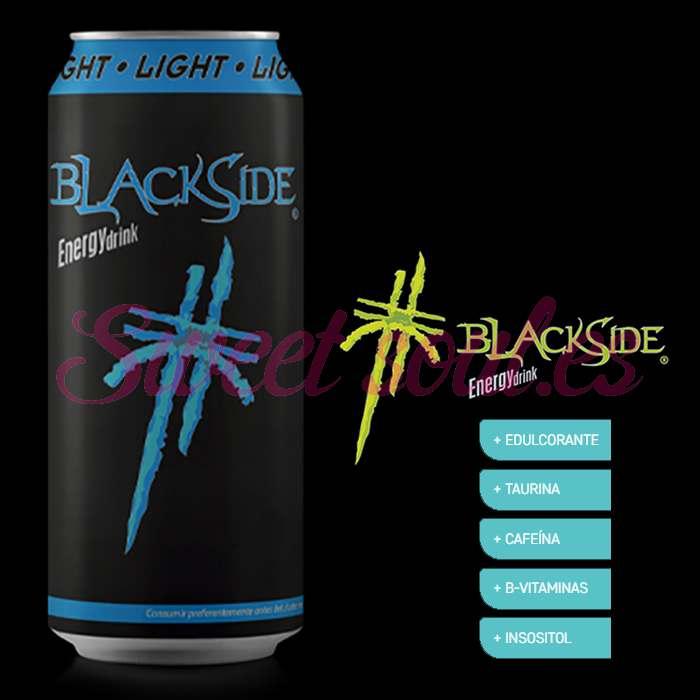 BLACKSIDE LIGHT ENERGY DRINK, 24UNDSx500ml