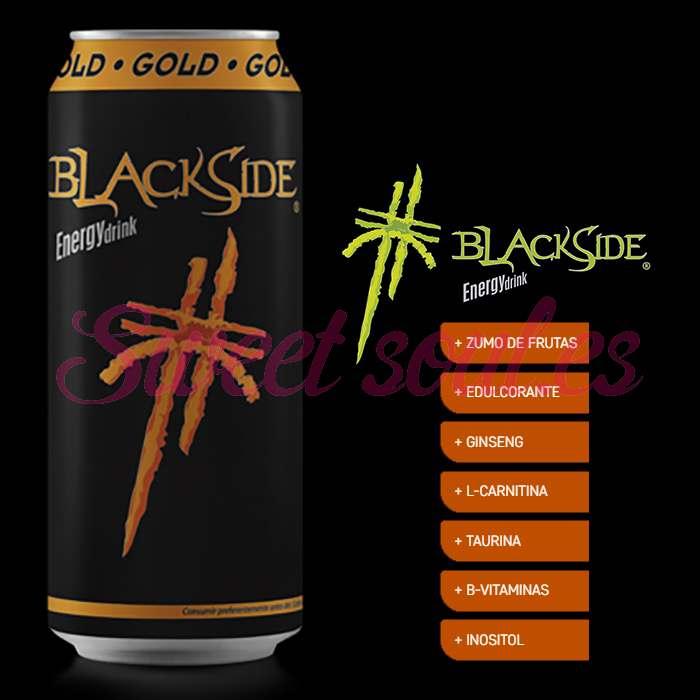 BLACKSIDE GOLD ENERGY DRINK, 24UNDSx500ml