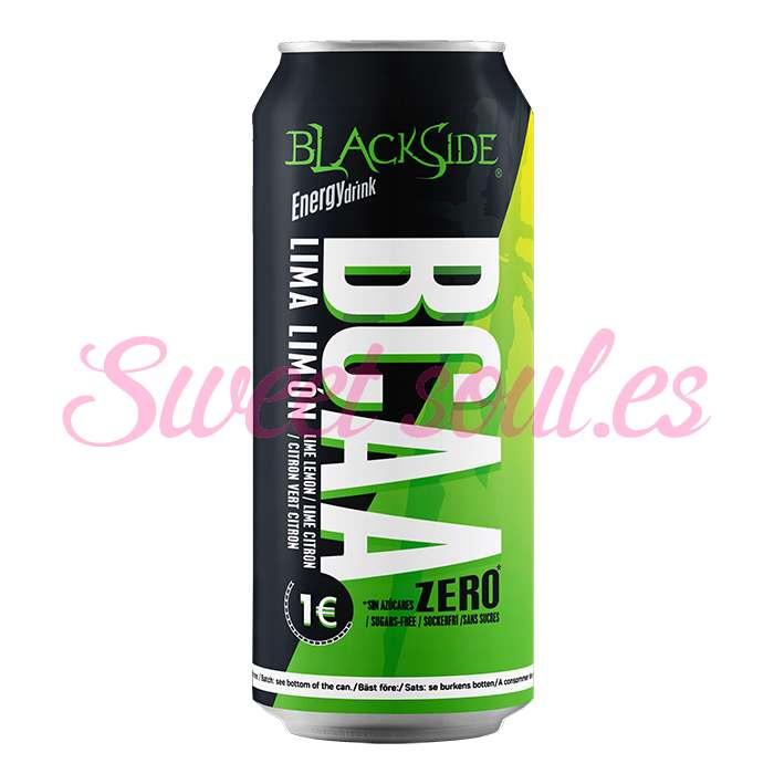 BLACKSIDE BCAA ZERO LIMA-LIMON, 24UNDSx500ml