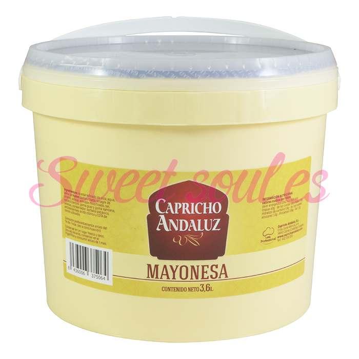 CUBO MAYONESA CAPRICHO ANDALUZ,, 3,6L