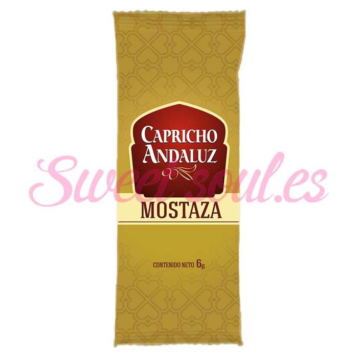 SOBRES MOSTAZA CAPRICHO ANDALUZ, 300UNDSx6g