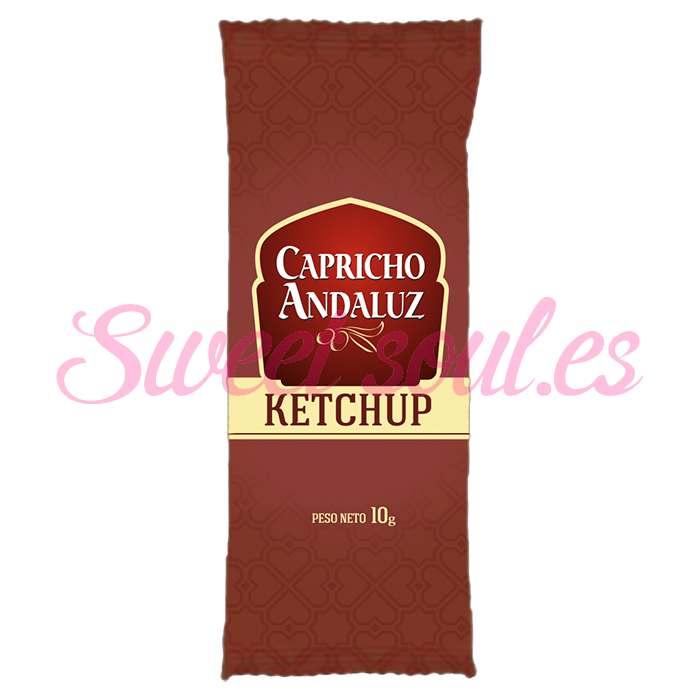 SOBRES KETCHUP CAPRICHO ANDALUZ, 275UNDSx10g