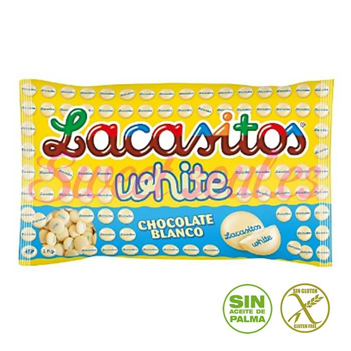 BOLSA DE LACASITOS WHITE LACASA, 1kg