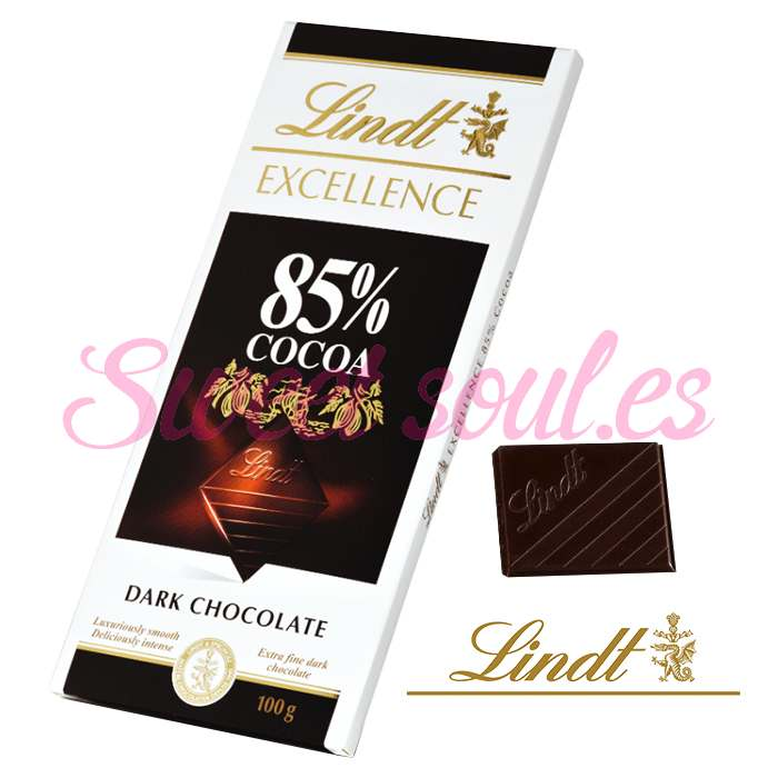CHOCOLATE LINDT EXCELLENCE 85% COCOA, 100g