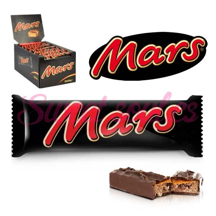 CAJA DE CHOCOLATINAS MARS, 24UNDSx51g