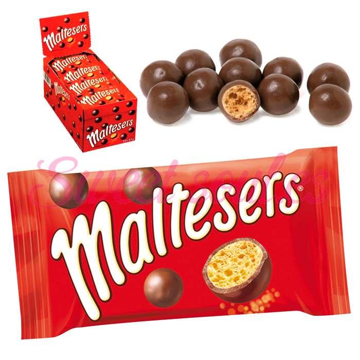 CAJA DE MALTESERS CON CHOCOLATE, 25UNDSx37gr