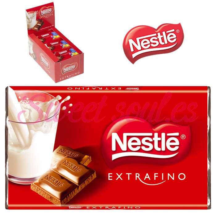 CAJA CHOCOLATE EXTRAFINO NESTLE, 24UNDS x 20g
