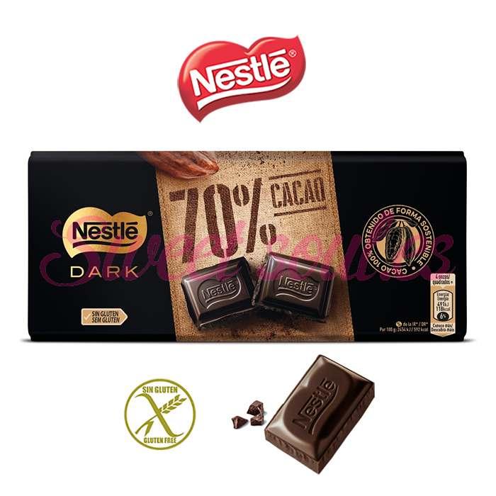 TABLETA NESTLE DARK CHOCOLATE 70%, 120g