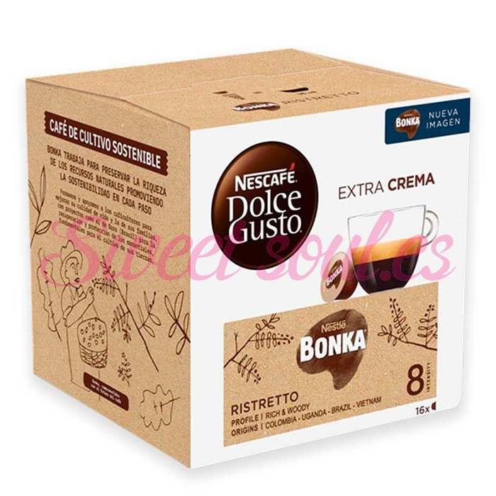CAJA CAFE DOLCE GUSTO ESPRESSO BONKA, 16 CAPSULAS