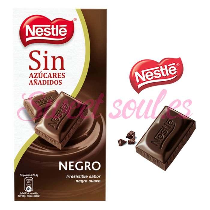 TABLETA CHOCOLATE NESTLE NEGRO SUAVE, 125g