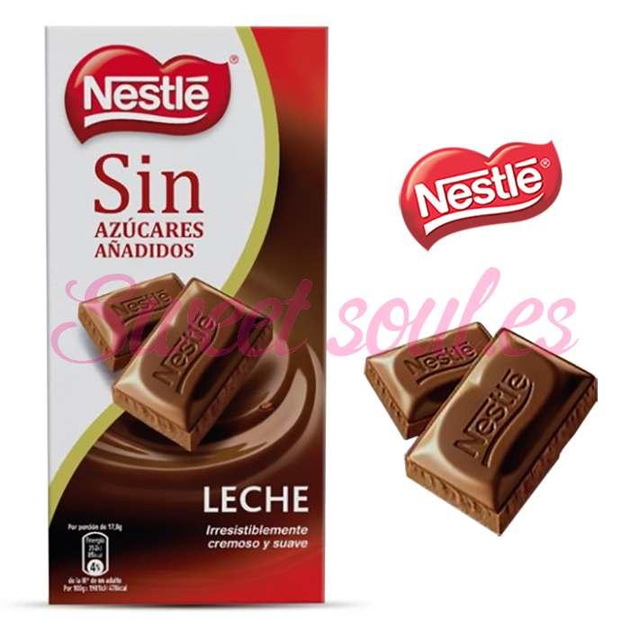TABLETA CHOCOLATE CON LECHE NESTLE, 125g