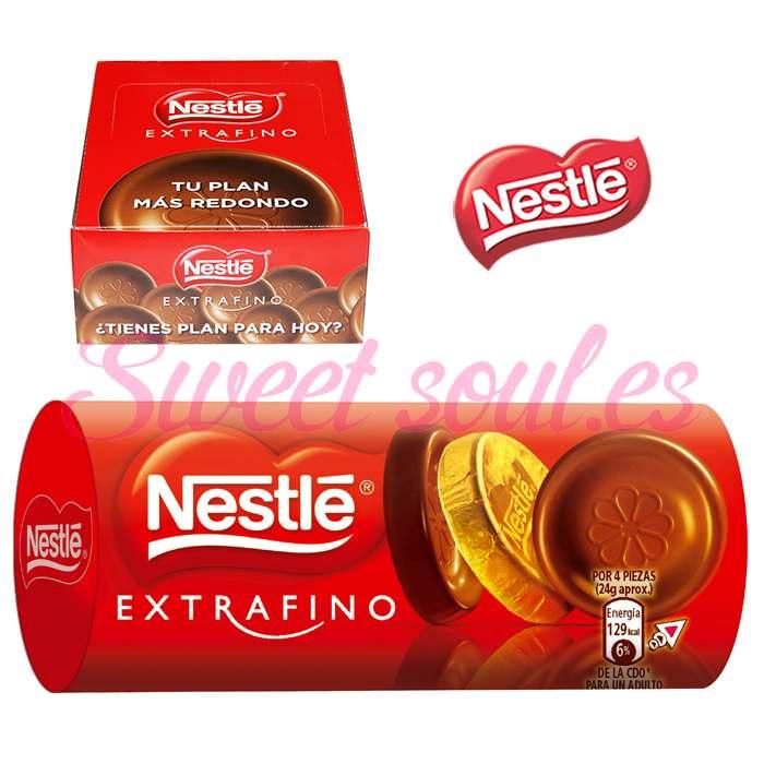 ROLLO CHOCOLATE LECHE NESTLE EXTRAFINO, 16UNDSx83g