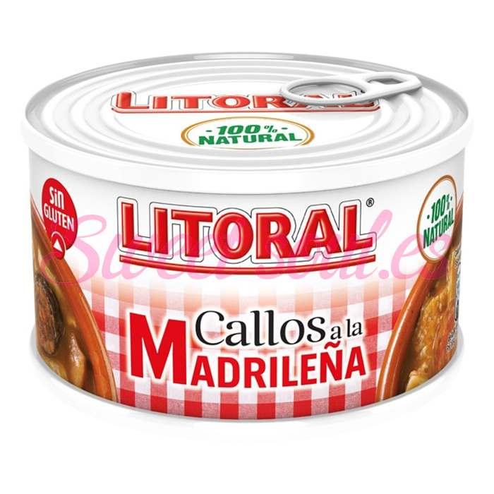 LATA DE CALLOS A LA MADRILEÑA LITORAL, 380g