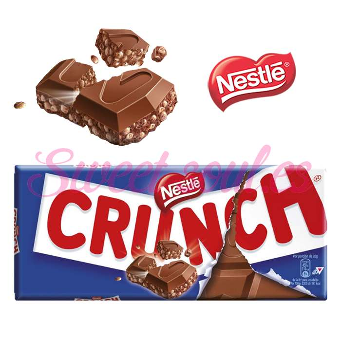 TABLETA CHOCOLATE NESTLE CRUNCH, 100g