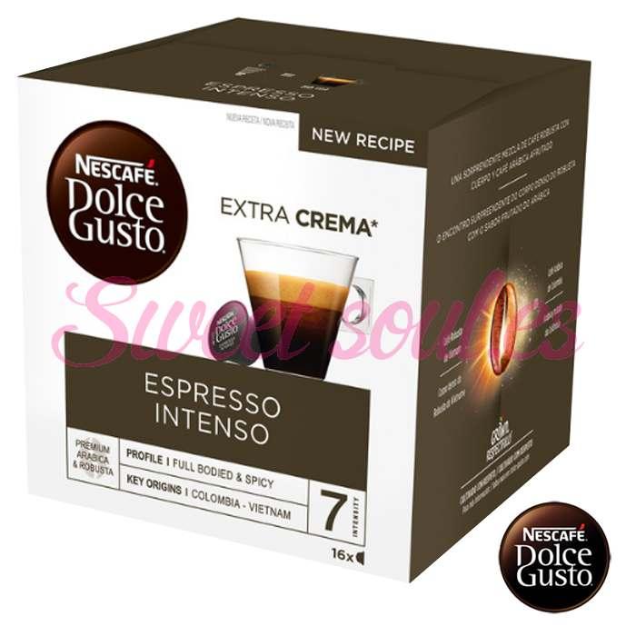 CAJA CAFE DOLCE GUSTO ESPRESSO INTENSO, 16CAPSULAS