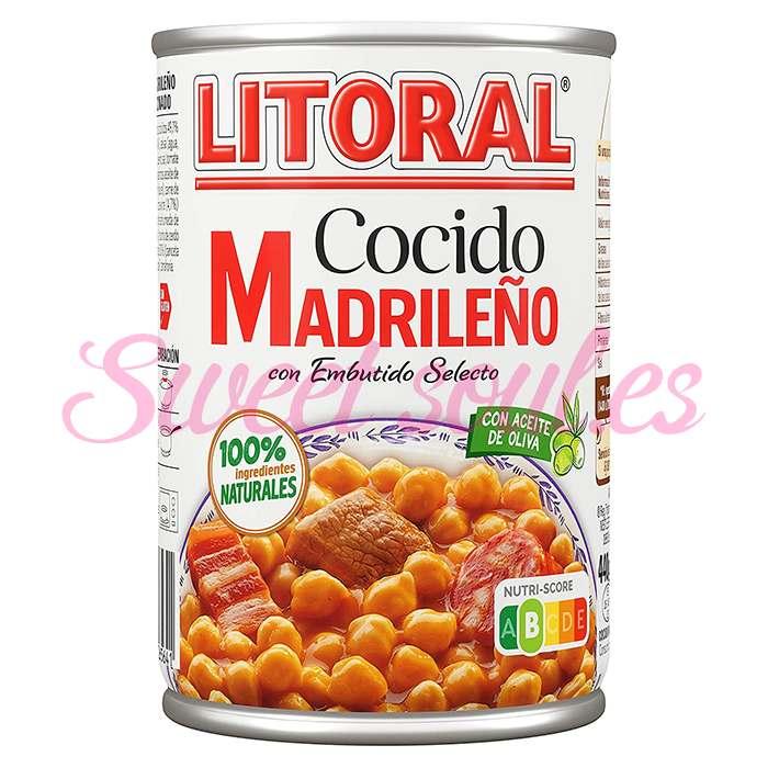 LATA DE COCIDO MADRILEÑO LITORAL, 440g