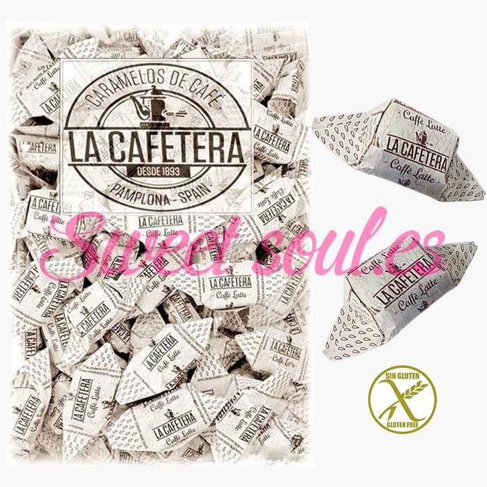 BOLSA CARAMELOS DULSA LA CAFETERA CAFFE LATTE, 1kg