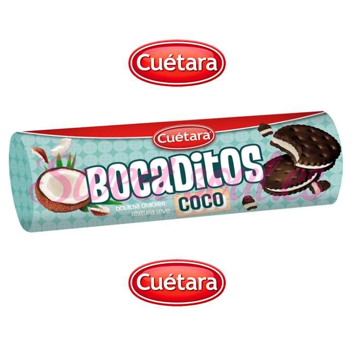 RODILLO GALLETAS BOCADITOS COCO CUETARA, 160g