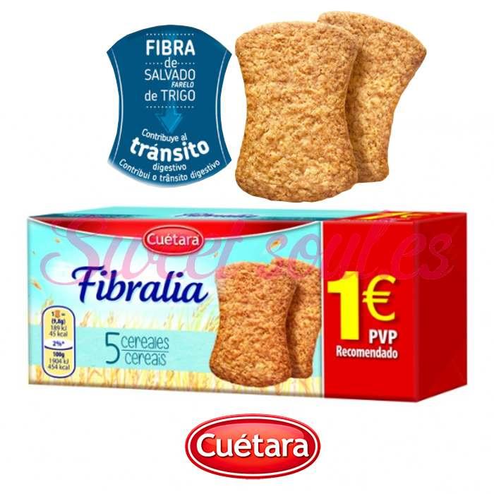GALLETAS FIBRALIA 5 CEREALES CUETARA, 167g