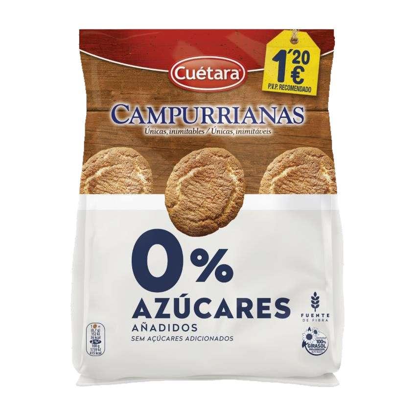 CAMPURRIANAS CUETARA 0%AZUCARES AÑADIDOS, 150g