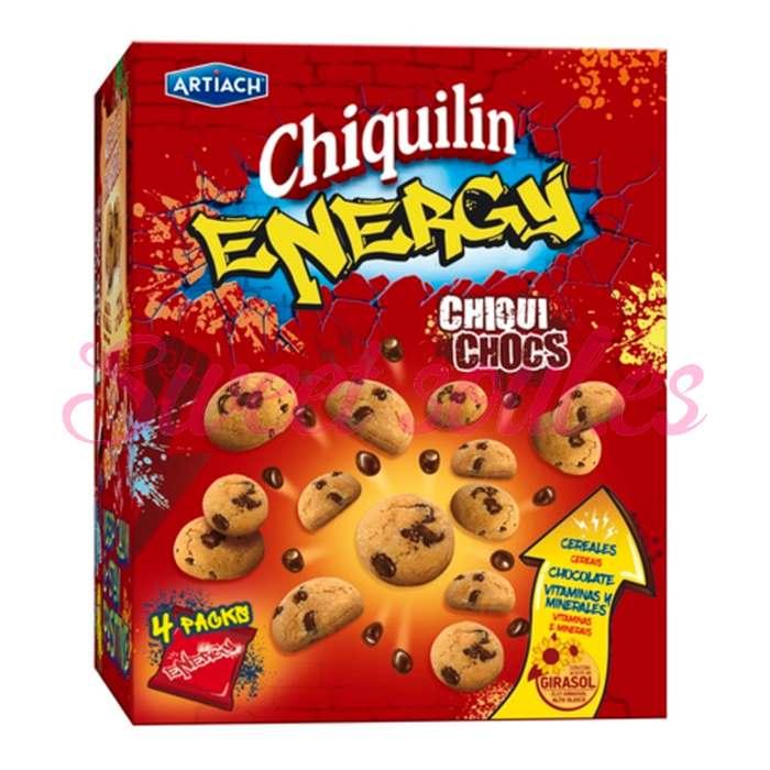GALLETAS CHIQUILIN ENERGY CHIQUI CHOCS, 140g