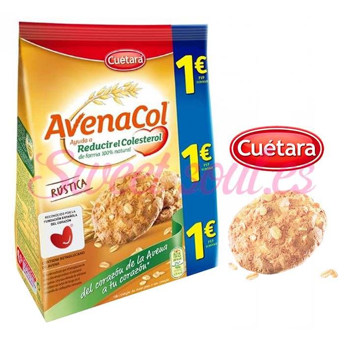 GALLETAS AVENACOL RUSTICA CUETARA, 150g