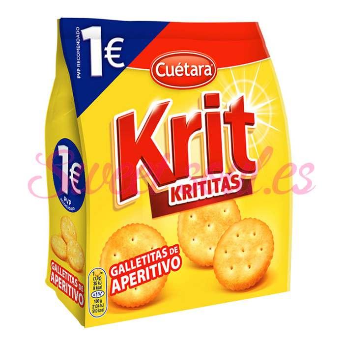 GALLETAS SALADAS KRIT KRITITAS CUETARA, 150g
