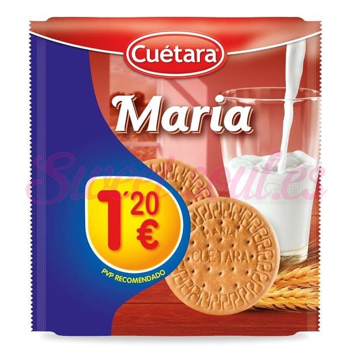 PAQUETE GALLETAS MARIA CUETARA, 400g