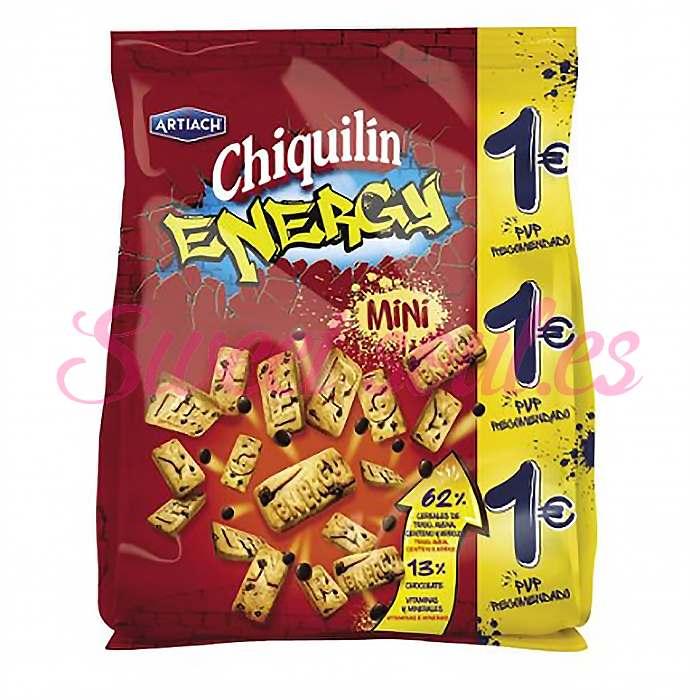 GALLETAS CHIQUILIN  ENERGY MINI ARTIACH, 125g