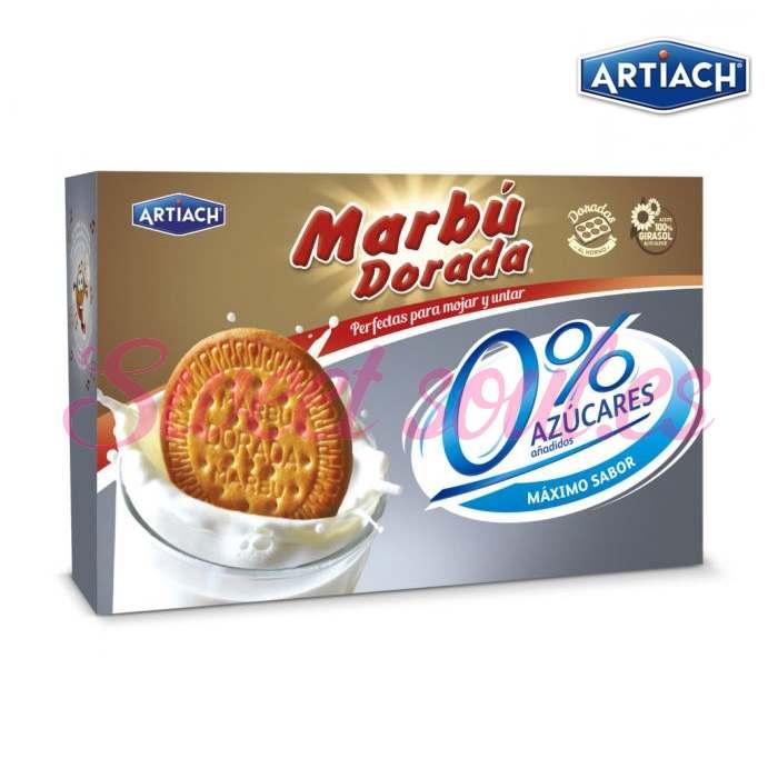 GALLETAS MARBU DORADA 0% AZUCAR AÑADIDO 400g