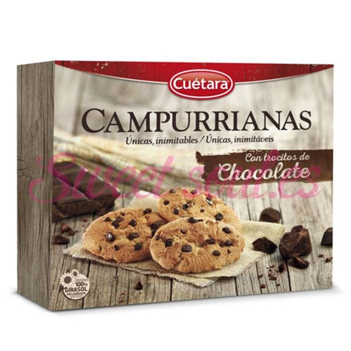 GALLETAS CAMPURRIANAS CON CHOCOLATE 450g