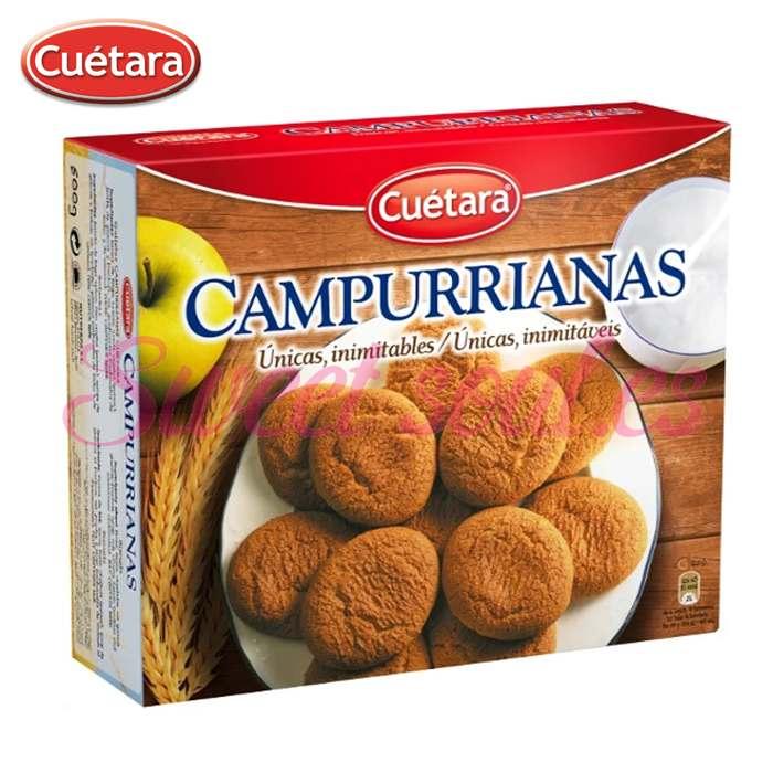 CAJA GALLETAS CAMPURRIANAS 500g